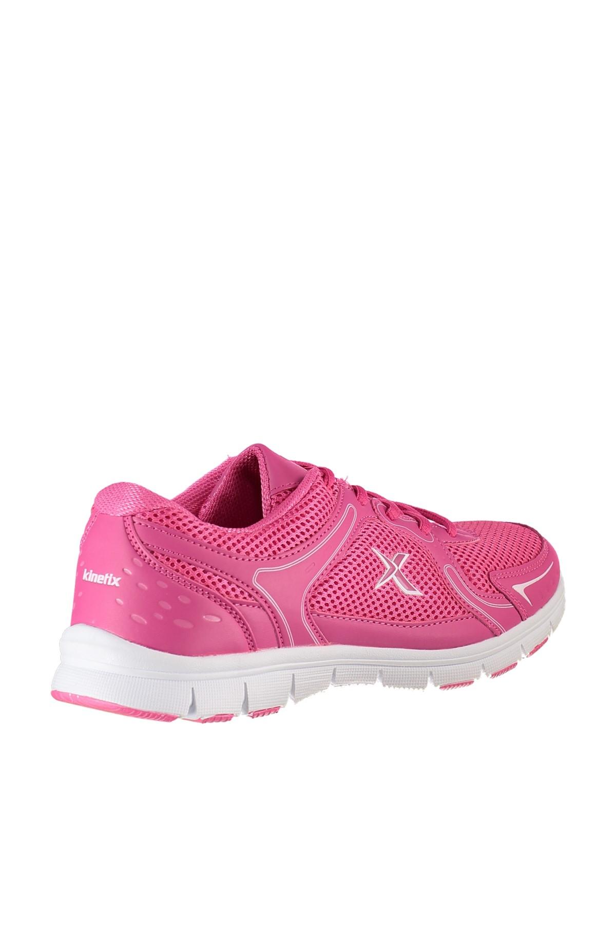 Kinetix 1235577 Fuşya Beyaz Kadın Koşu Ayakkabısı 100163188 2