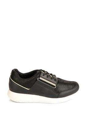 Tommy Hilfiger Kadın Siyah Sneaker S1285Amantha 4C1 FW0FW01478