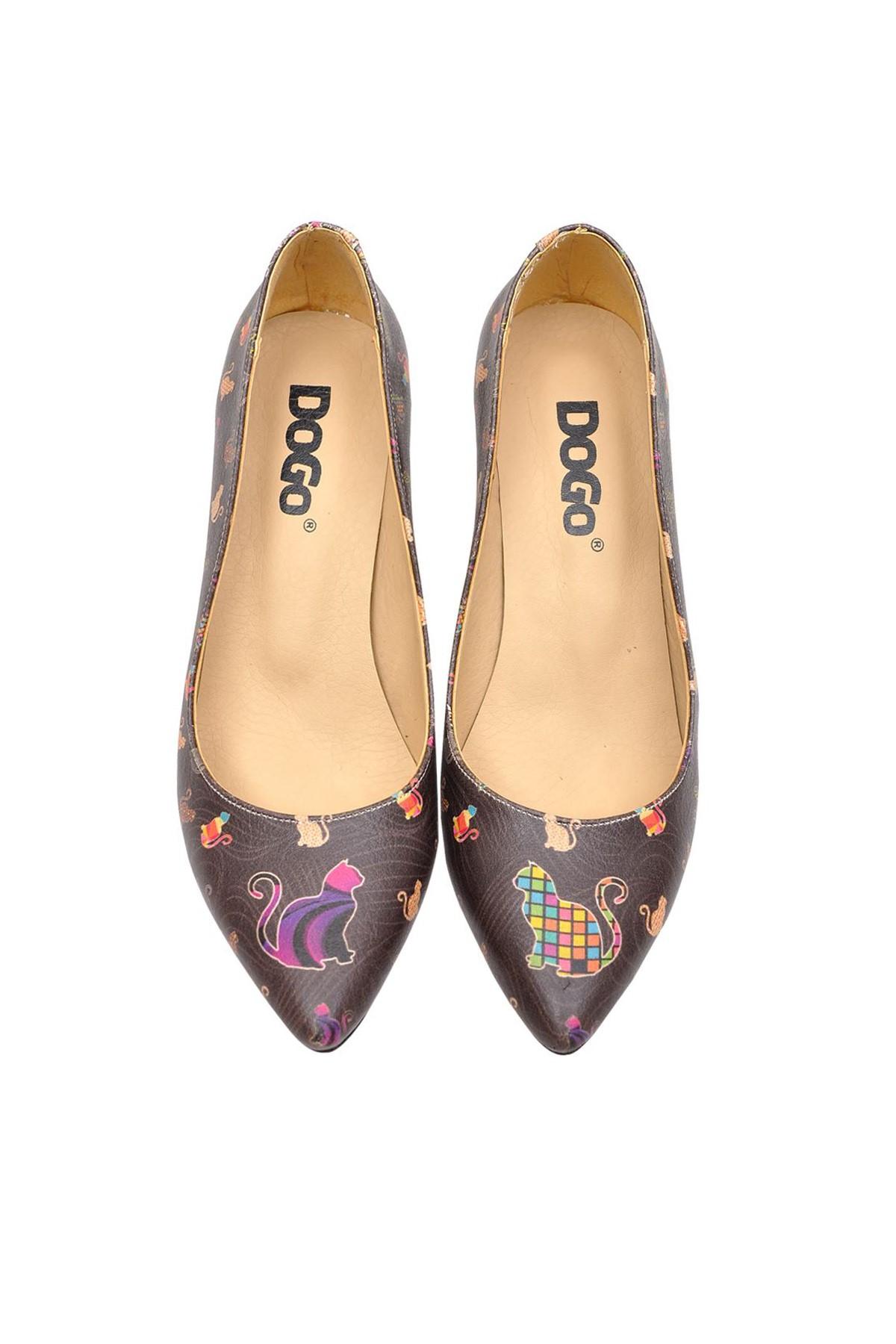 Dogo Çok Renkli Kadın Topuklu Ayakkabı DGHH016-STL005 1