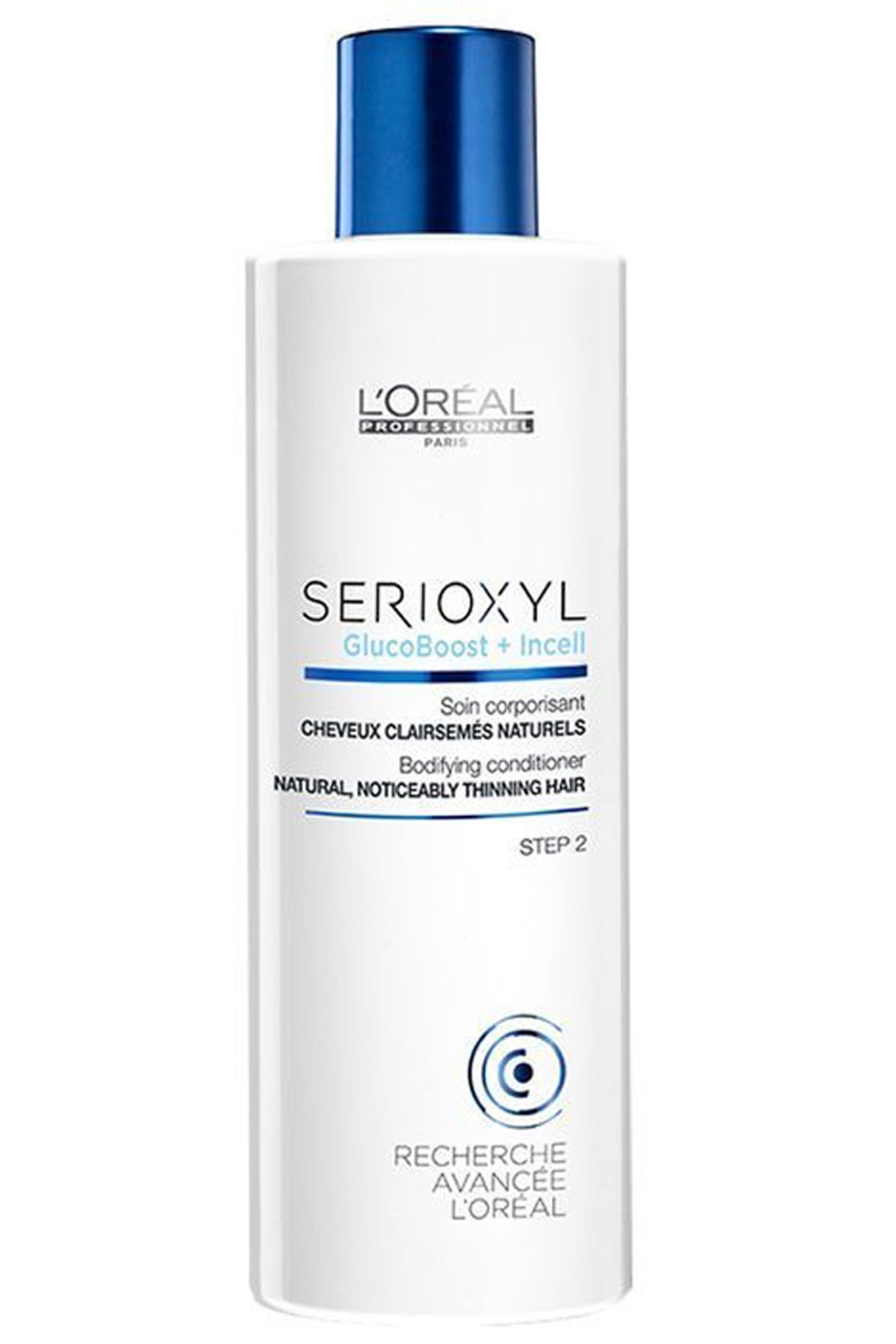 L'oreal Professionnel Serioxyl GlucoBoost+Incell Conditioner - Dolgunlaştırıcı Saç Kremi 250 ml  3474630643253 1