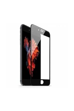 Bufalo iPhone 7 Plus/8 Plus Kavisli 5D Cam Ekran Koruyucu Siyah