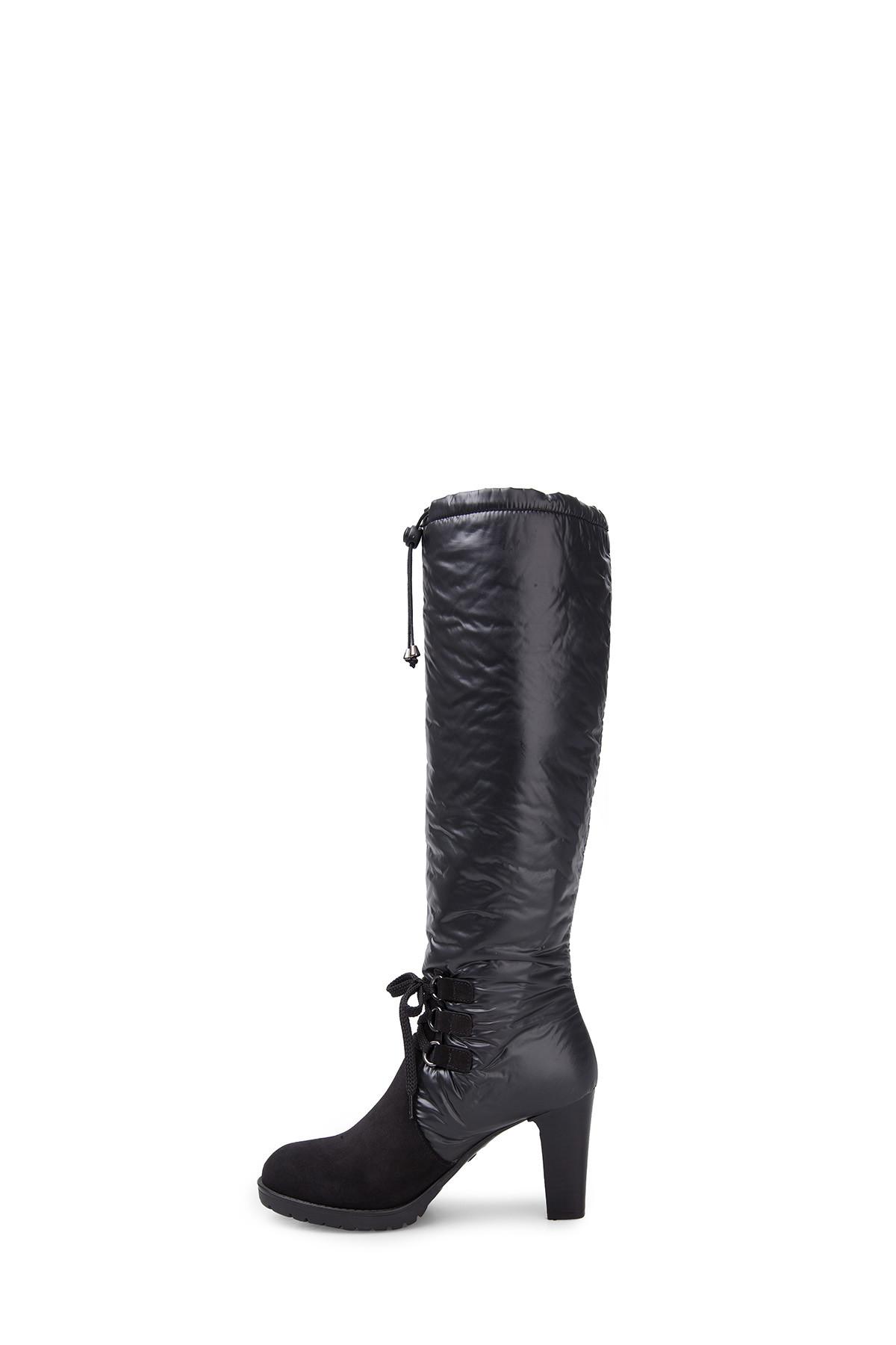 ALBERTO GUARDIANI Kadın Siyah Çizme ZOXSD47397 2