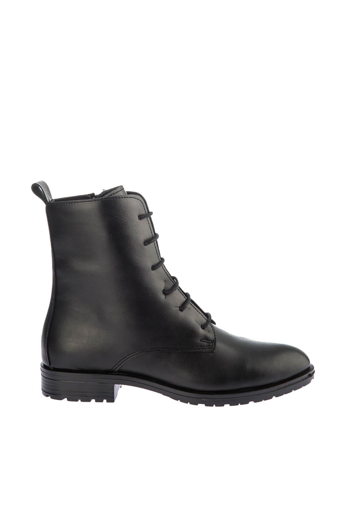 Fox Shoes Siyah Kadın Bot E288496009 2