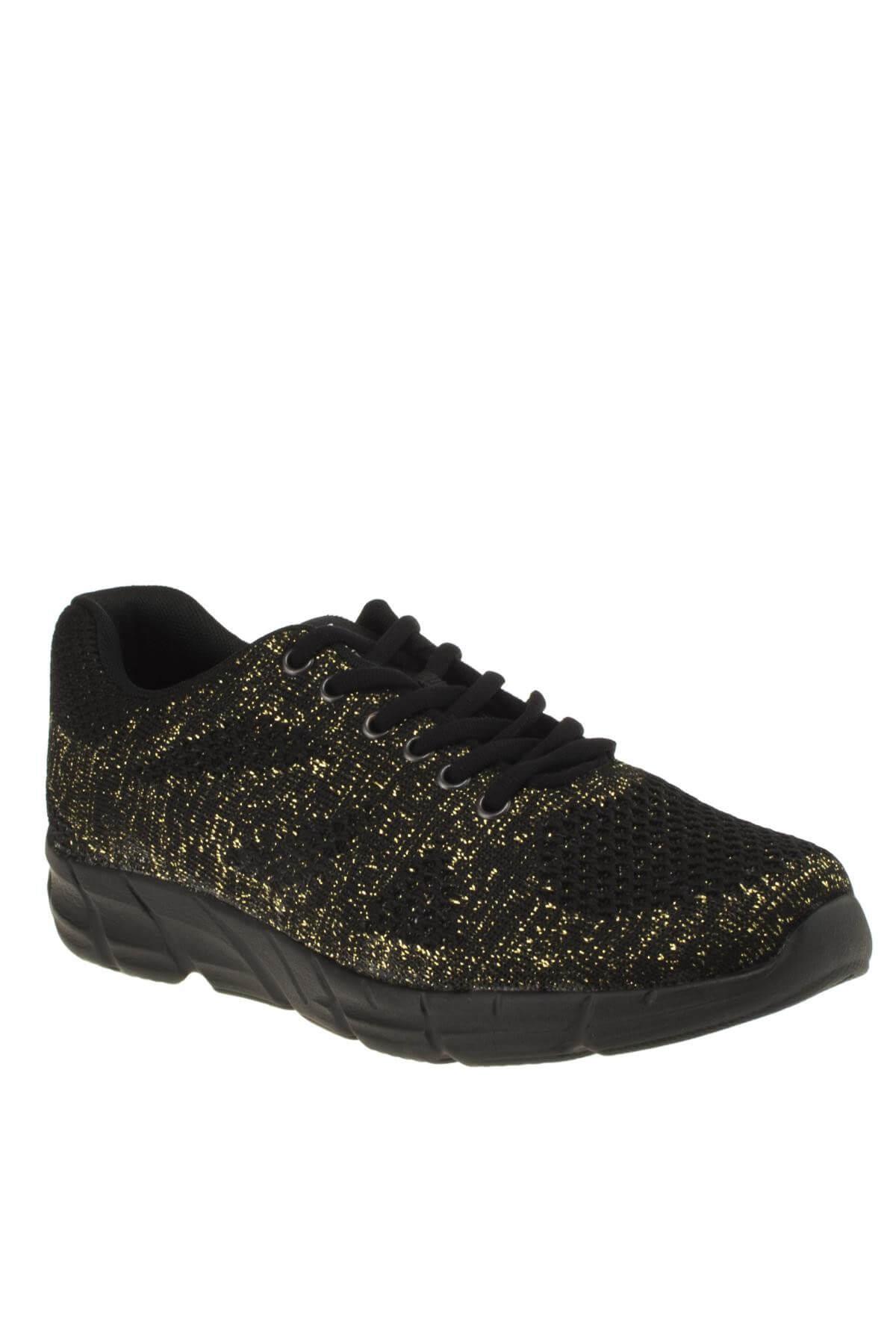 Scooter Unisex Siyah Sarı  Sneaker 186 5437G 1