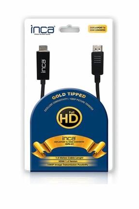 Inca IDPH-01 DİSPLAYPORT TO HDMI KABLO 1.8 METRE KUTULU