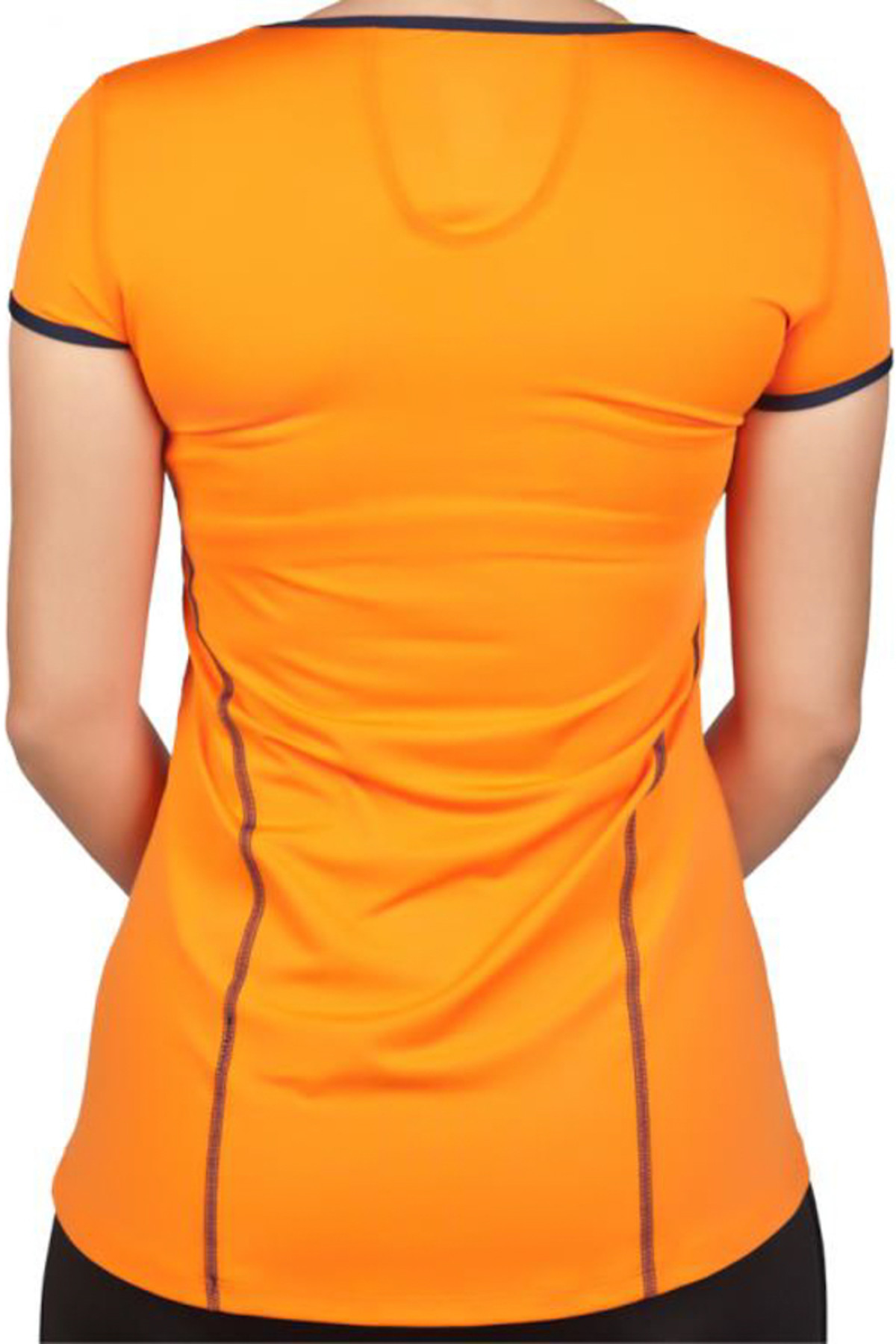 Exuma Kadın Turuncu Spor T-shirt - 142252 2