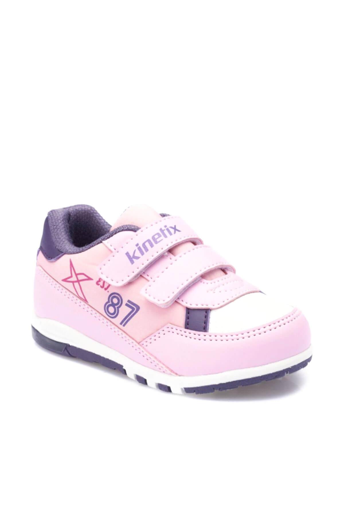 Kinetix Melsi Açık Pembe Mor Kız Çocuk Sneaker Ayakkabı 100325659 1