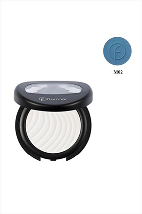 Flormar Göz Farı - Matte MoNo: Eyeshadow Light Blue M02 8690604092826
