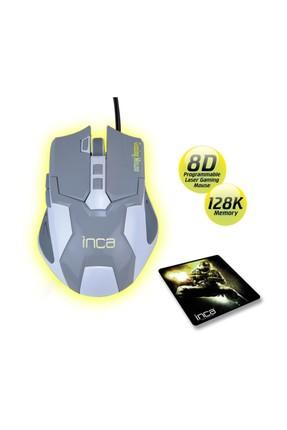 Inca Img-313Gb Laser Gamıng Mouse+ Gamıng Mousepad