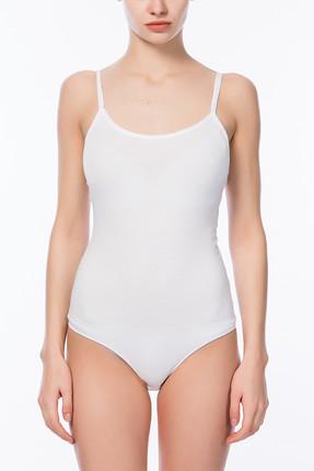 Penti Beyaz Kadın Basic İnce Askı Body PLBASIAB13SK