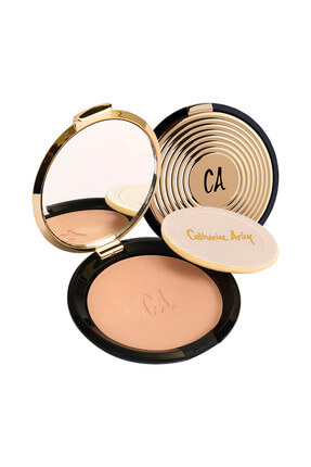 Catherine Arley Gold Pudra - Gold Compact Powder 102 8691167474838