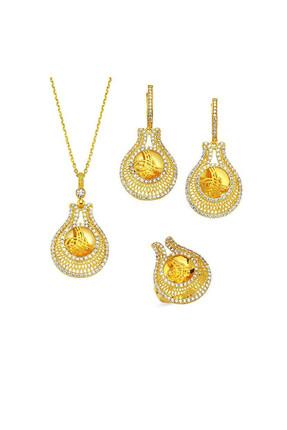 Altınbaş Kadın Altın Set & Takım SET-UTKMC4820-24906