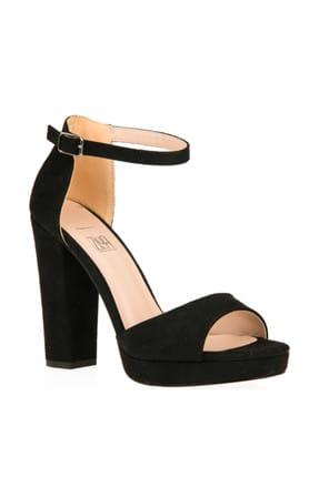 Ziya Siyah Kadın Topuklu Ayakkabı 9176 1167-1