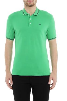 Emporio Armani Erkek Yeşil T-Shirt 8N1F30 1JPTZ 0581