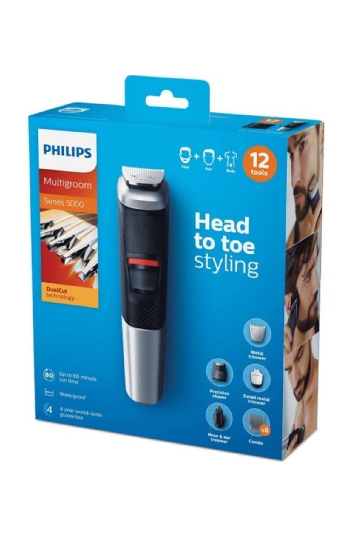 Philips 5000 Serisi MG5740/15 12 in 1 Erkek Bakım Kiti Multigroom Tıraş Makinesi Bakım Seti 2
