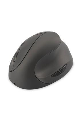 Assmann Kablosuz Ergonomik Optik Mouse, 6 Düğmeli, 2.4GHz, şarj edilebilir bat