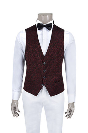 D'S Damat SMOKİN YELEK (Slim fit)