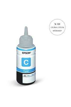 EPSON ORİJİNAL MAVİ L200/L220/L300/L210/ L355/L550/L1300/L382/L386/L565/L655/L605/L310 için T6