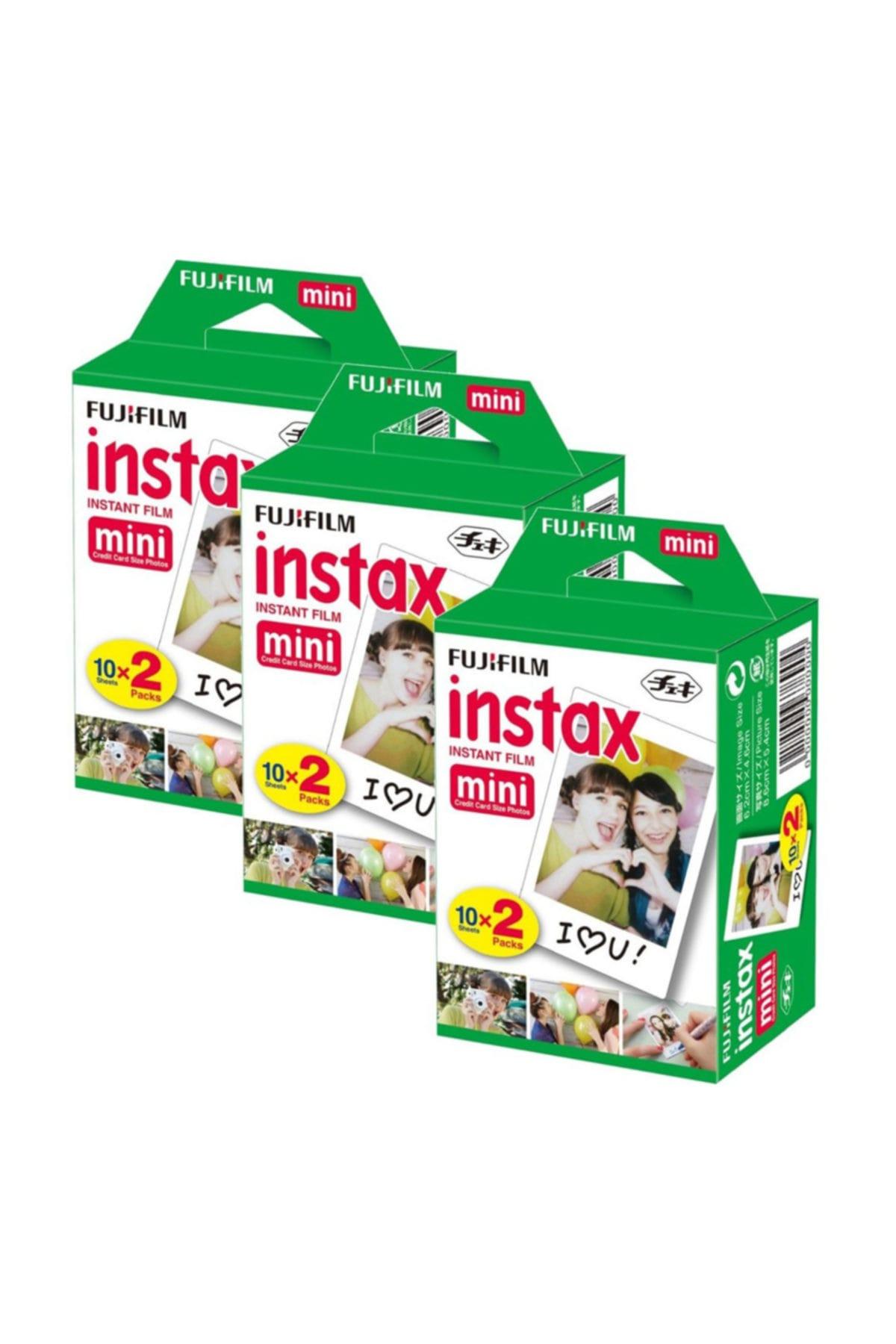 Fujifilm Instax Mini 20'li Film 3'lü Set 60 Poz 1