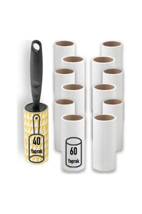 IKEA Bastis Iplik Tüy Toplayıcı Rulo Ve 12'li Yedek Paket