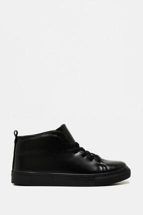 Koton Erkek Siyah Ayakkabı 9KAM22012OA