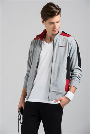 HUMMEL Erkek Sweatshirt Pn21 Dınamo Zip Jacket