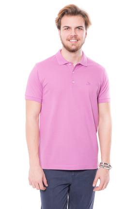 Karaca Erkek Slim Fit Pike T Shirt   Pembe