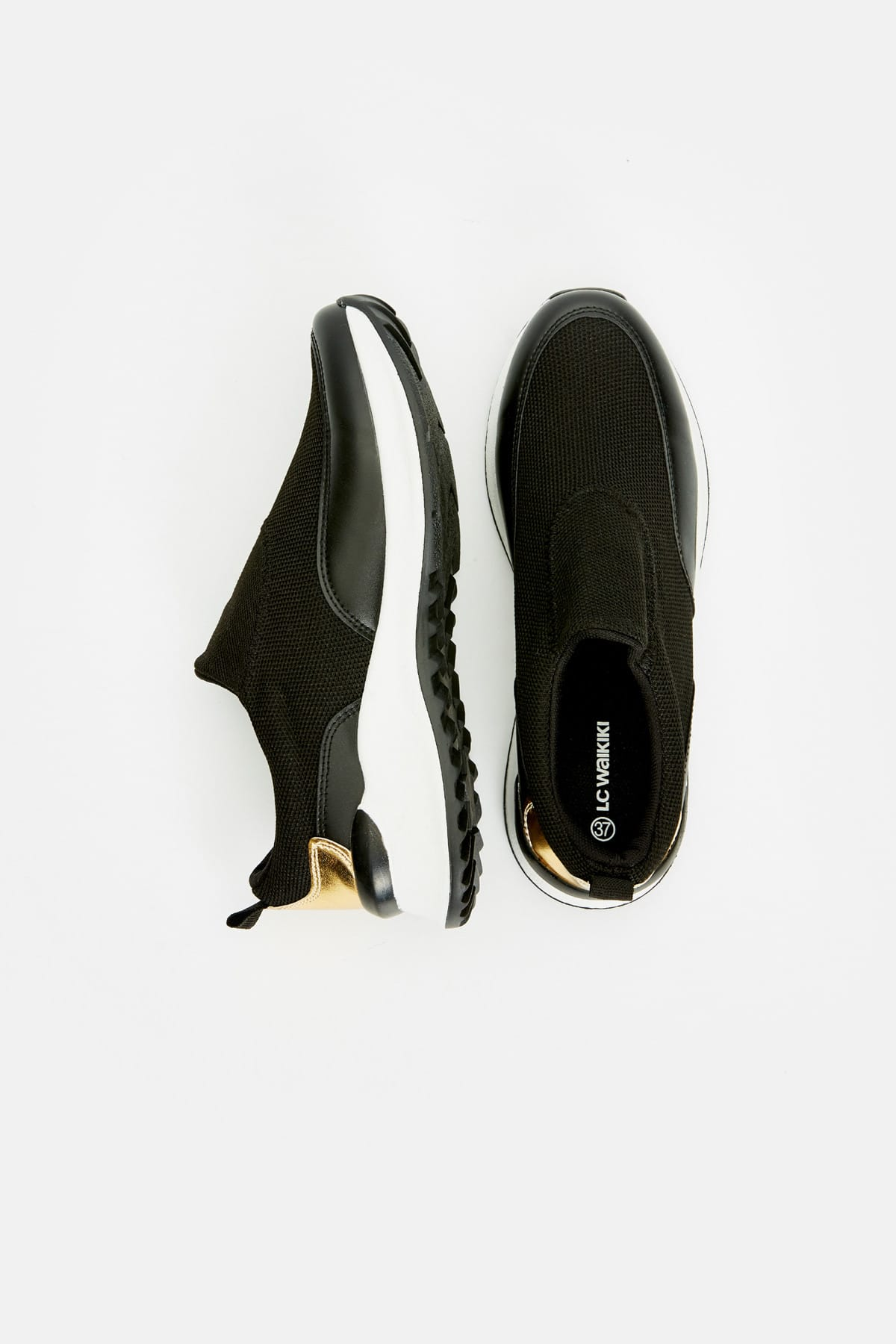 LC Waikiki Kadın Siyah Ayakkabı 9S5632Z8 2