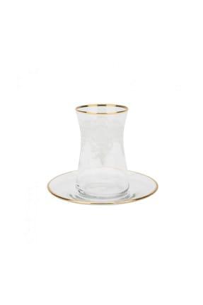 Karaca Lace Gold 6 Kişilik Çay Seti