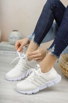 Riccon Beyaz Beyaz Unisex Sneaker 0012370