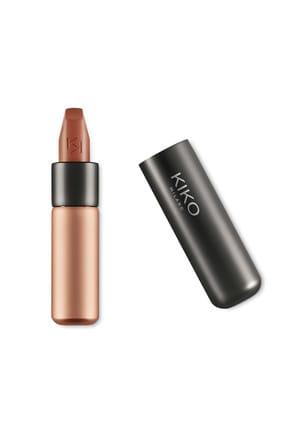 KIKO Saten Mat Ruj - Velvet Passion Matte Lipstick 301 Beige 8025272630153
