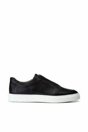 Hotiç Hakiki Deri Siyah Erkek Sneaker