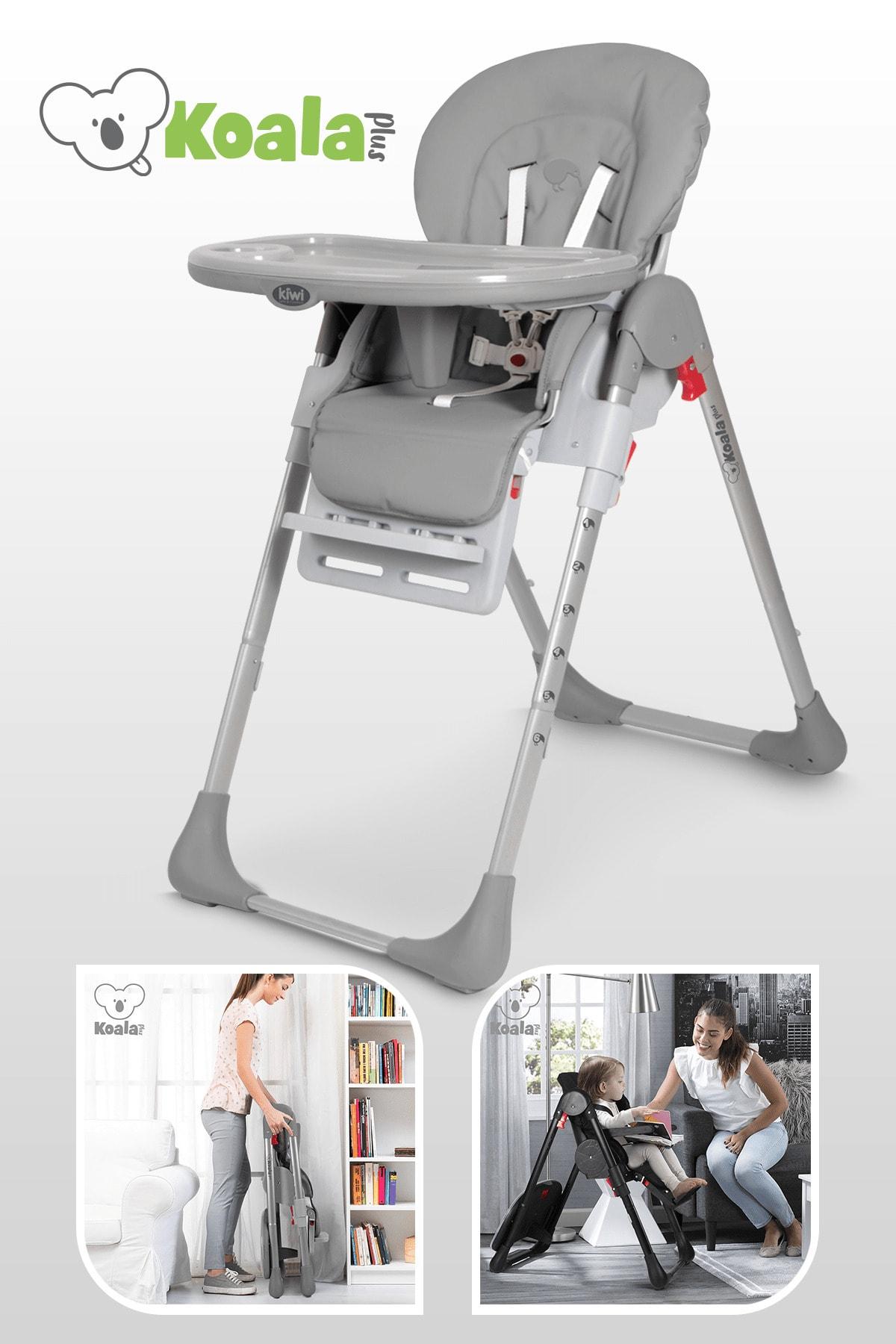Kiwi Koala All In One Katlanır Tekerlekli Mama Sandalyesi 1