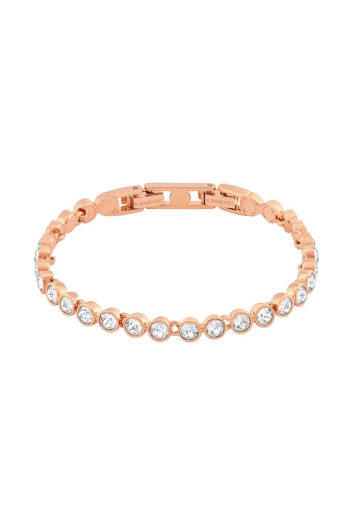 Swarovski Kadın Bilezik Tennis:Bracelet Cry/Ros M 5039938 1