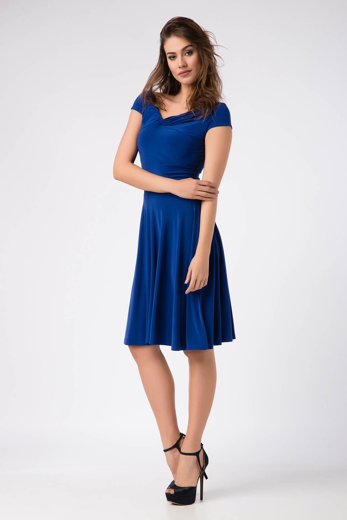 Laranor Kadın Saks Elbise 14L1062-L 1