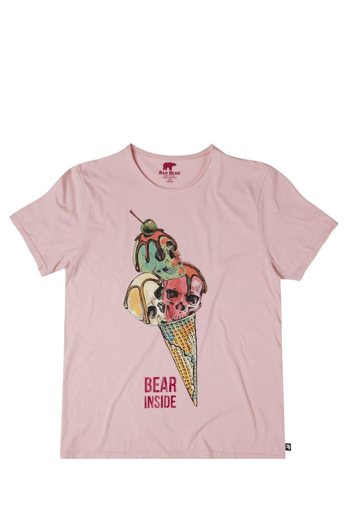 Bad Bear SKULL CREAM ROSE 1