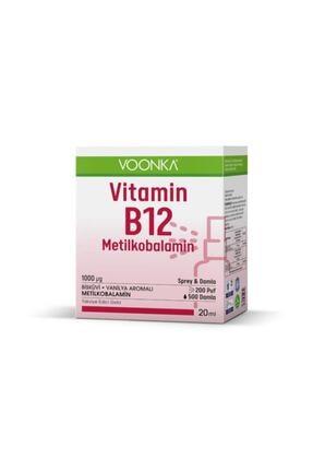 Voonka Vitamin B12 Metilkobalamin Damla /sprey 20 ml