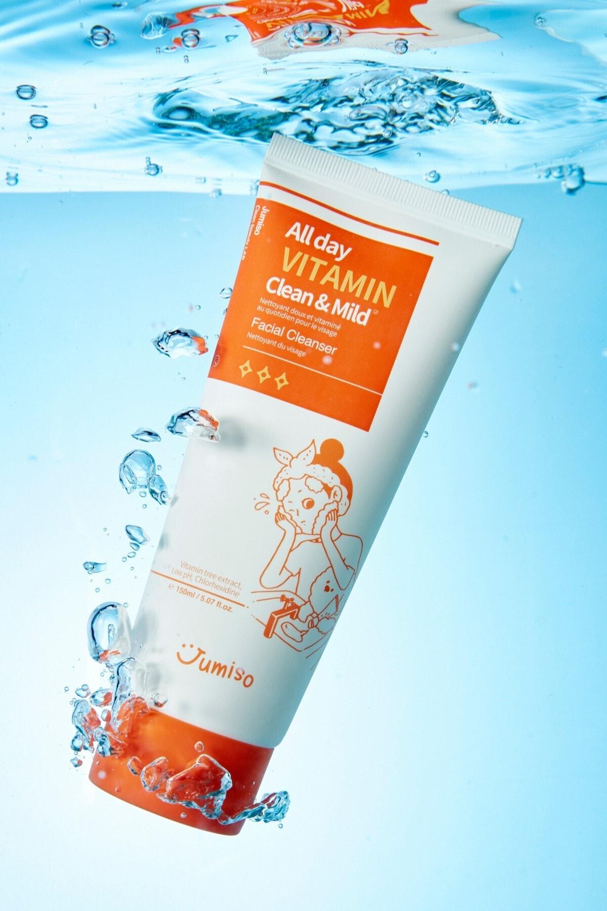Jumiso All Day Vitamin Clean Mild Facial Cleanser 150 ml 2