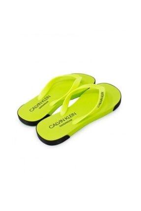Calvin Klein Unisex Sandalet - Yeşil