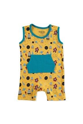 HelloBaby Erkek Bebek Uzaya Doğru Tema Desenli Barbatöz
