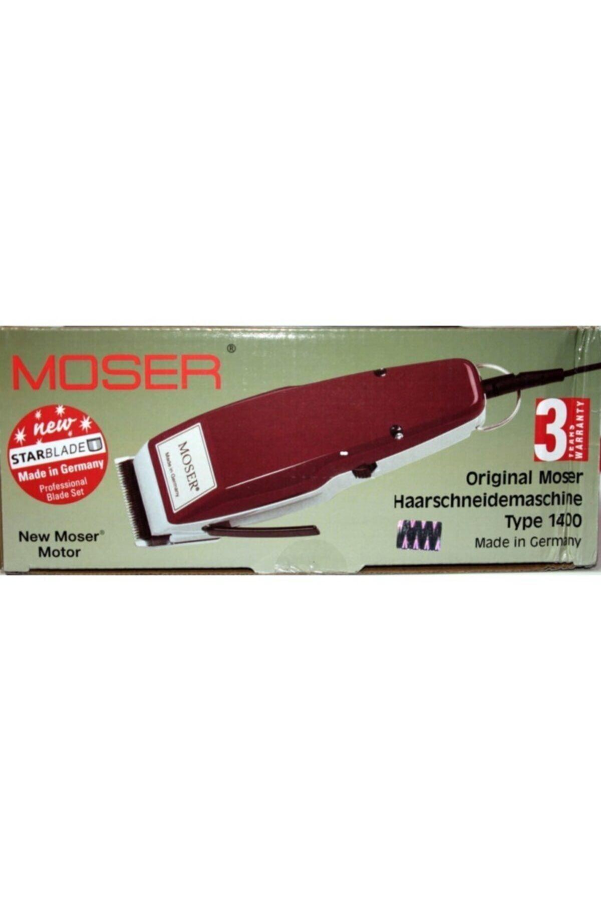World Moser 1400-0050 Saç Sakal Kesme Makine Traş Makinesi Seti 1