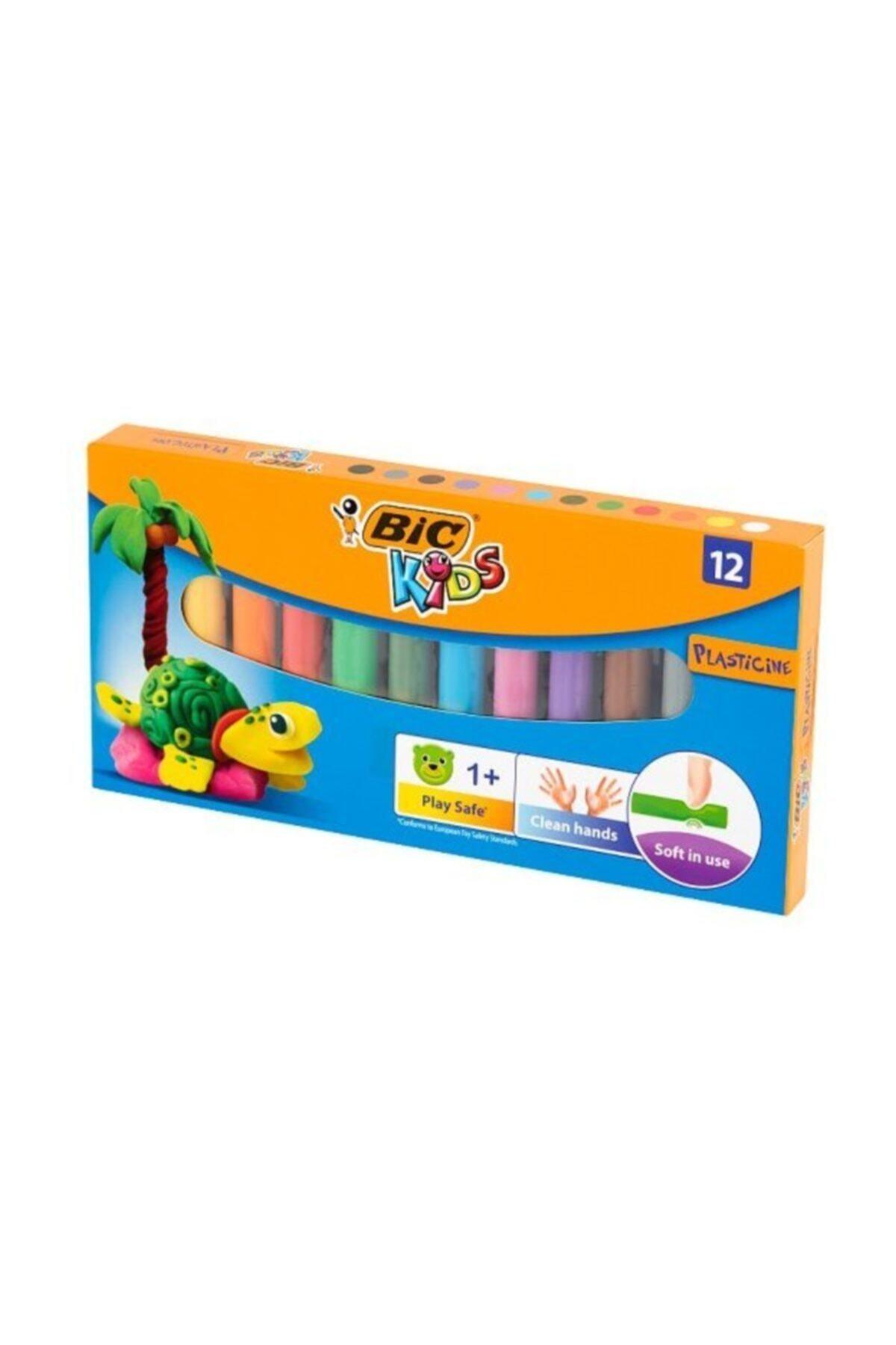 Bic Plastelina Kurumayan Oyun Hamuru 12 Renk 1