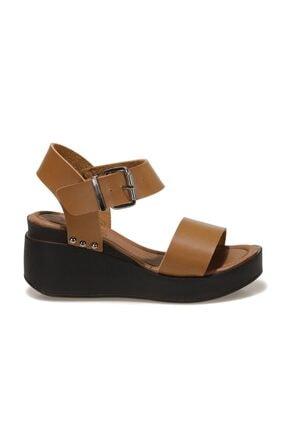 Butigo 20S-528C1FX Taba Kadın Dolgu Topuklu Sandalet 101029648