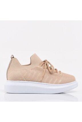Hotiç Bej Yaya Kadın Spor Ayakkabı