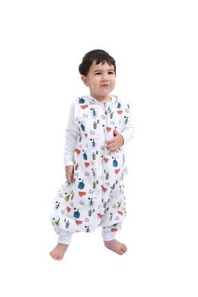 Enhitbaby Çocuk Bebek Uyku Tulumu Oeko-tex Sertifikalı Müslin 0,5 Tog