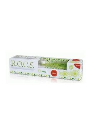 R.O.C.S. Yeşil 0-3 Yaş Diş Macunu ve Diş Fırçası Seti