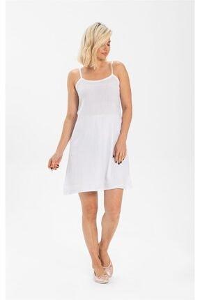 Eliş Şile Bezi Elbise Şile Bezi Iç Astarı Beyaz