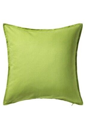 IKEA Minder Kırlent Kılıfı Meridyendukkan 50x50 Cm Açık Yeşil Rengi Fermuarlı Yastık Kılıfı