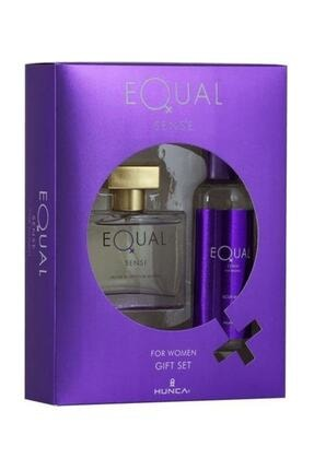Equal Sense Edt 75 ml Kadın Parfüm Set 8690973028716