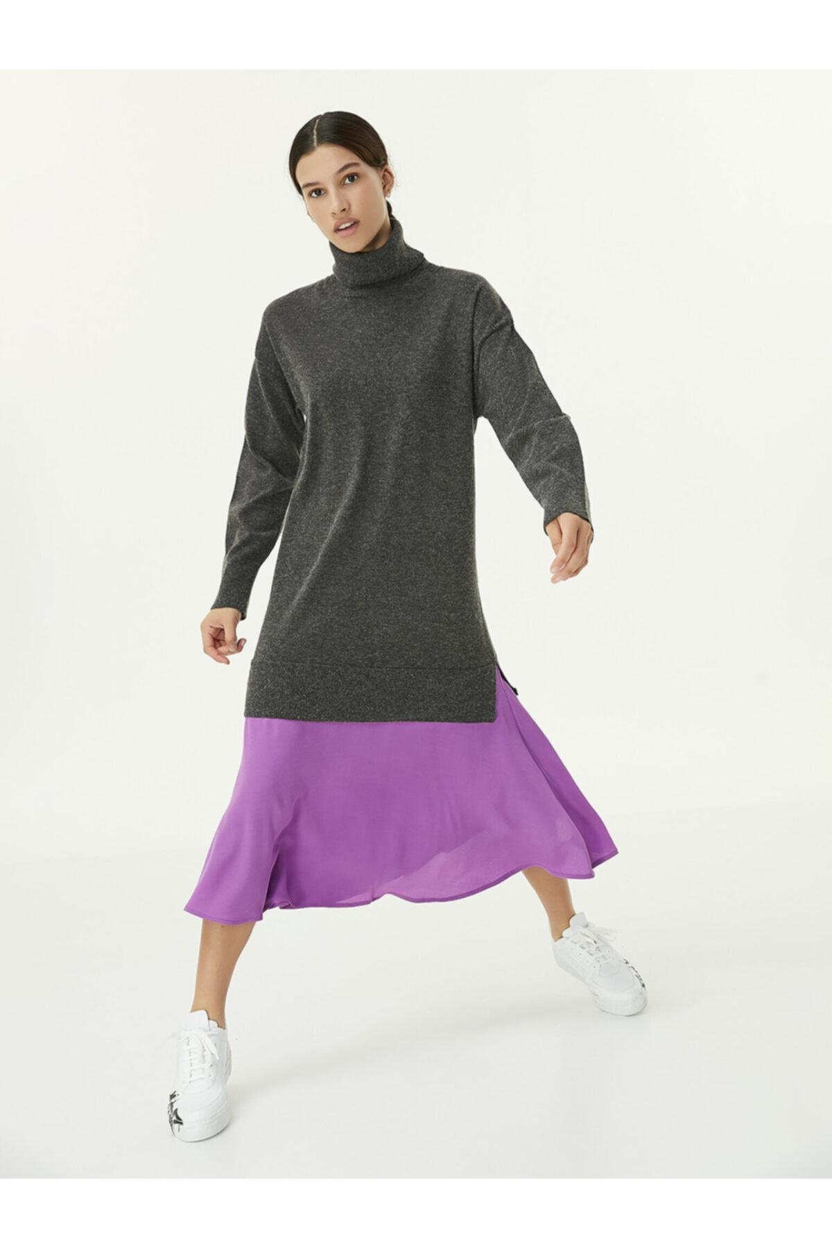 Twist Renk Geçişli Elbise 2